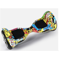 Graffiti Design Two Wheels Self Balancing Mini Smart Electric Hoverboard