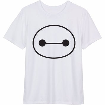 Baymax 6 Big Hero 6 Women's Casual T-Shirt