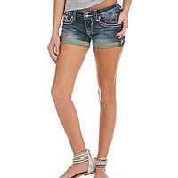 Vigoss Patriotic-Sequined Cuffed Denim Shorts | Dillards.com