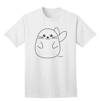 Cute Seal Adult T-Shirt by TooLoud