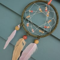 Green Dreams Dreamcatcher