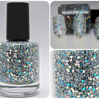Do The Polka Dot - Custom Glitter Nail Polish