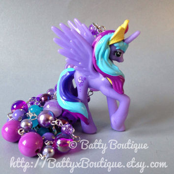 Princess Luna  RARE  My Little Pony Necklaces  by BattyxBoutique