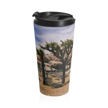 Joshua Tree Coffee Cup - Stainless Steel Travel Mug