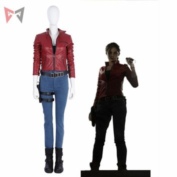 Cool MMGG Halloween Resident Evil 2 Cosplay Claire Redfield cosp 8226d7c7623d