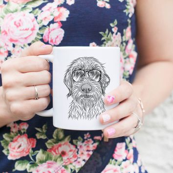 Wilkins the Wirehaired Pointing Griffon - Mug