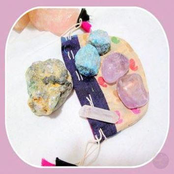 """Positive Energy"" Crystal Grid Kit"