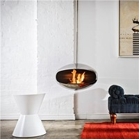 Cocoon Fires Aeris Stainless Steel Fireplace - Style # cfassaeris, Modern Fireplace - Contemporary Fireplace - Fireplace Accessories - Stainless Steel Fireplace | SwitchModern.com