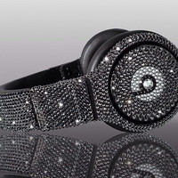 Swarovski Crystal Beats By Dre Pro Headphones - Made with Swarovski Elements bling beats by dre