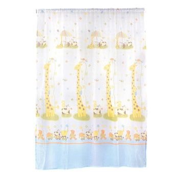 Hot Selling  1 PCS Giraffe Color Silk Door Window Curtain Drape Panel Sheer Voile Tulle  Scarf  Valances  Bedroom  Curtains