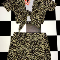 SWEET LORD O'MIGHTY! OG LEOPARD MINI SKIRT