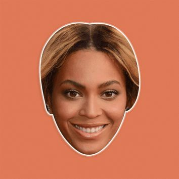 Happy Beyonce Mask by RapMasks