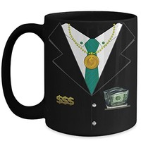 Billionaire Suit and Tie 15 oz Coffee Cup