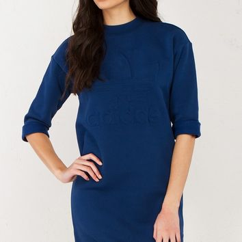 Adidas Sweater Dress in Mysblu