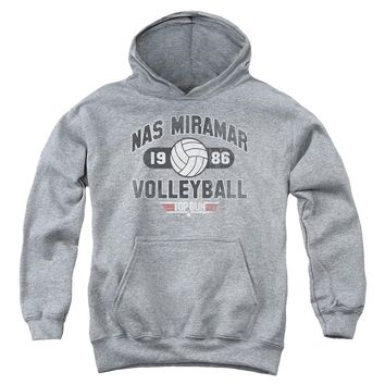 Top Gun - Nas Miramar Volleyball Youth Pull Over Hoodie