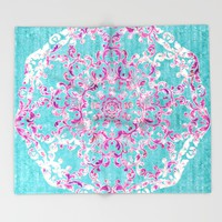 Reinventing A Taste of Lilac Wine Throw Blanket by Octavia Soldani | Society6