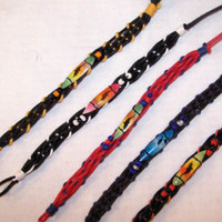 NEW SURF BOARD WOVEN BRACELETS jewelry beach bracelet surfboard mens ladies new