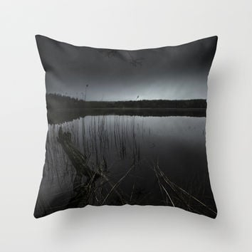 Bad man Throw Pillow by HappyMelvin