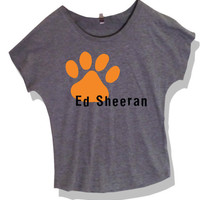 Ed Sheeran Cut-Off Shirt Light Grey