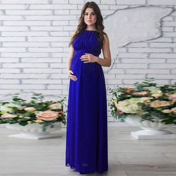 04231502ce Maternity dress Chiffon Pregnant Clothes Dress Photography cloth