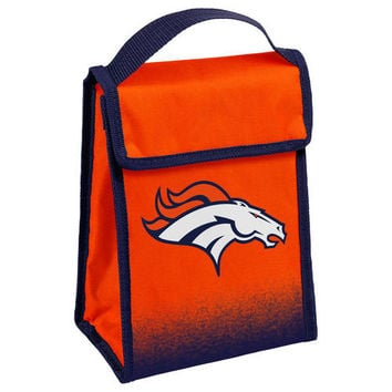 Denver Broncos Official NFL Gradient Velcro Lunch Bag