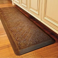 Trellis Scroll Anti-fatigue Comfort Mat