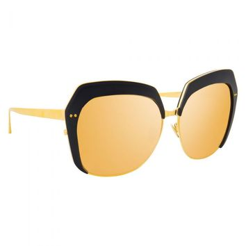Linda Farrow 578 C2 Oversized Sunglasses