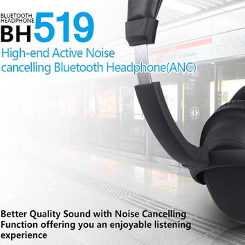 BH519 Noise Cancelling Bluetooth Headphones