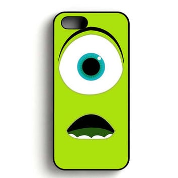 Monster Inc Face iPhone 5, iPhone 5s and iPhone 5S Gold case