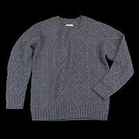 Cable Knit Pullover, Grey