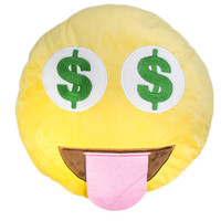 MONEY EYE$ EMOJI PILLOW