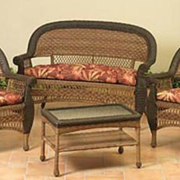 Shop Wicker Chair Patio On Wanelo