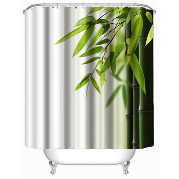 Zen Bamboo Shower Curtain 200cm