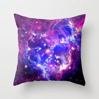Galaxy Throw Pillow by Matt Borchert