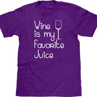 Funny Wine T Shirt, Wine Is My Favorite Juice Tee, Wine Tshirt, Funny Tshirt, Funny T Shirt, Wine Tee, Gift for Wine Lover, Men Plus Size