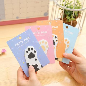(30Pages/pc) Cute Cat Memo Pad  Cartoon Message Quality Stickers Kawaii Diy Stationery Sticky Notes Planner
