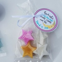 Twinkle Little Star Baby Shower Favors - Nursery theme soap, Love You to the Moon and Back custom made with Personalized Tags | Pack of 10