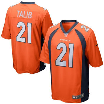 Talib Denver Broncos Nike Game Jersey - Orange