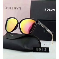 BOLON Stylish Women Men Personality Summer Sun Shades Eyeglasses Glasses Sunglasses Yellow I-XLL-WJ