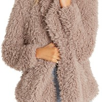 Billabong Do It Fur Love Faux Fur Jacket | Nordstrom