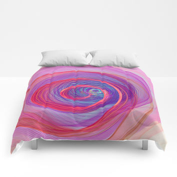 Ring Nebula Comforters by Virtualkee