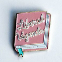 The Betty Collection: Liberal Vagenda Enamel Pin