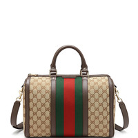 Vintage Web Boston Bag - Gucci