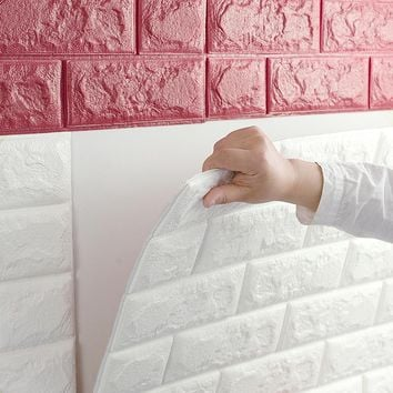 wall stickers wall brick pattern self-adhesive wallpaper