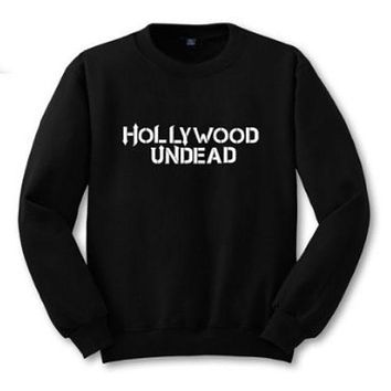 LMFIH3 [HOLLYWOOD UNDEAD] new English sweater personalized couple sweater