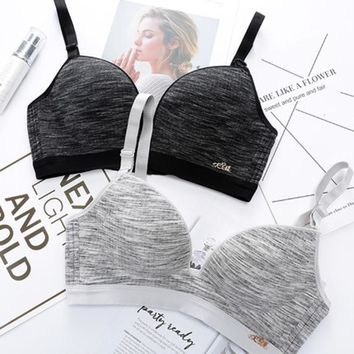 Sexy Bras for Women Push Up Bra Wire free Lingerie Seamless Bralette BH 3/4 Cup Sport Shake proof Cotton Female Underwear