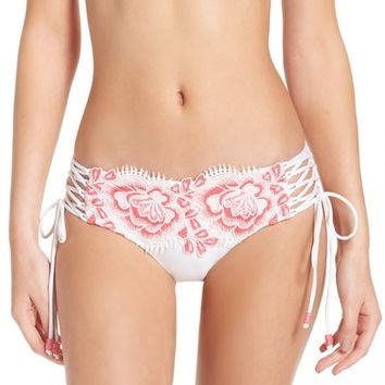 Isabella Rose Bouquet Side Tie Bikini Bottoms | Nordstrom