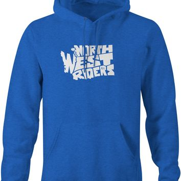 Upper Left Hoodie Royal Heather (MD)