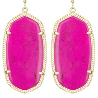 Danielle Earrings in Magenta - Kendra Scott Jewelry