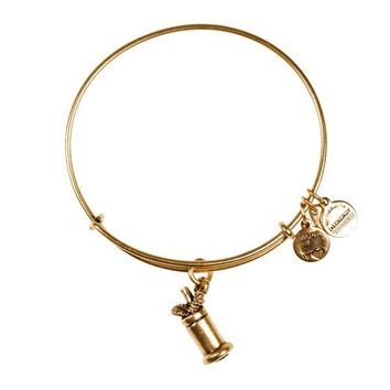 Alex and Ani Mint Julep Charm Bangle - Russian Gold